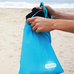 Matador Droplet Wet Bag--Blue--bathing suit