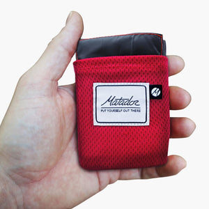 Matador Pocket Blanket 2.0--in hand