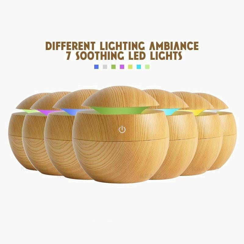 Nordic Oil Diffuser--7 LED light options