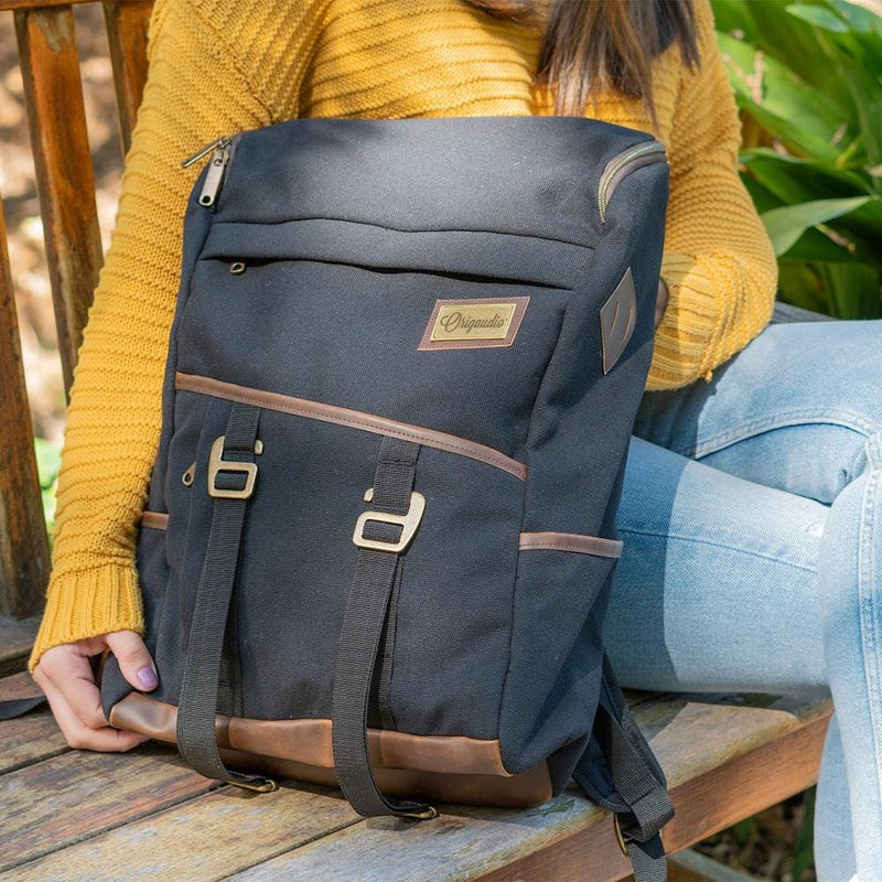 Black Finley Mill Pack--in use