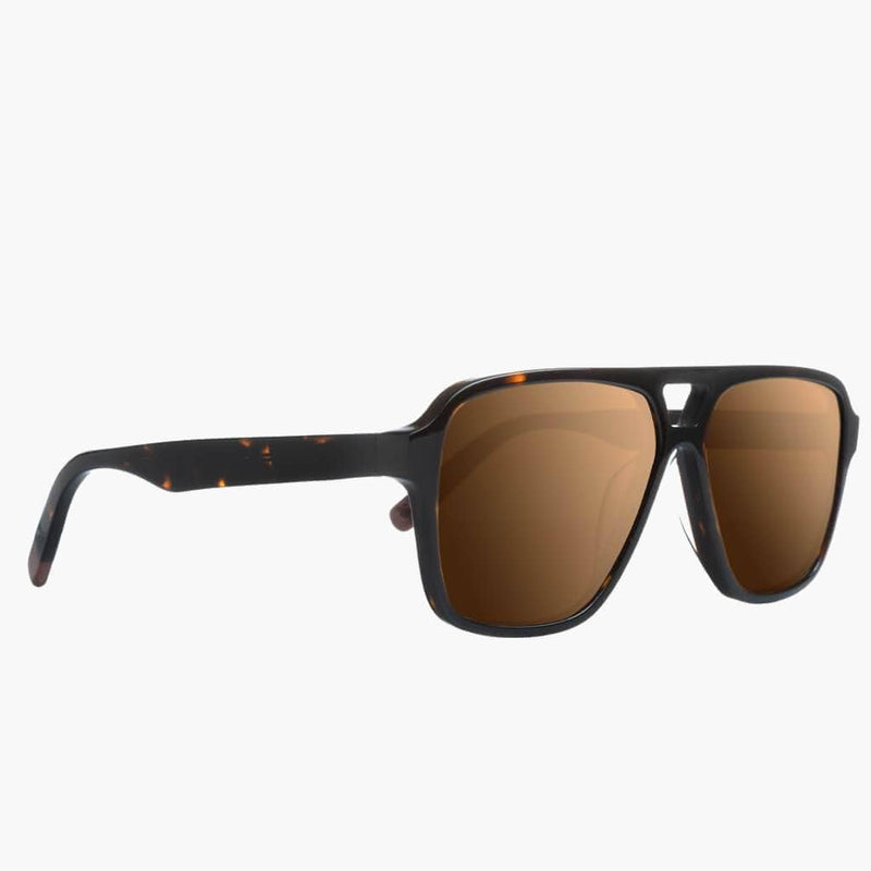 Bruneau Tortise/Brown Polarized Lens--Side View