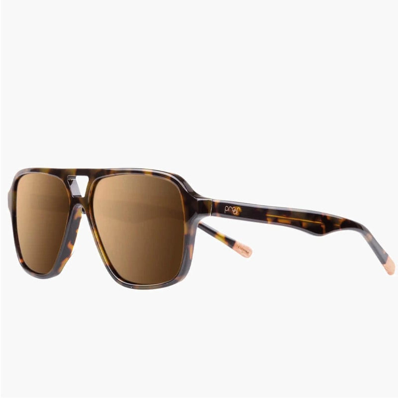Bruneau Tortoise // Brown Polarized Lens