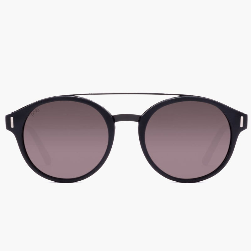 Wilder Eco Matte Black/Grey Polarized Lens--Front