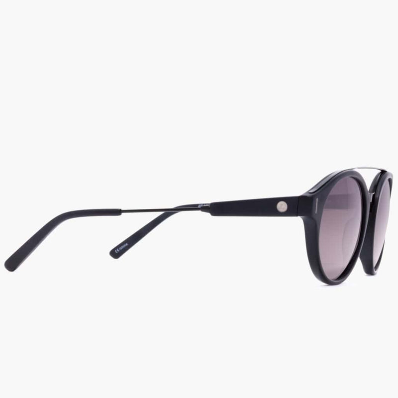 Wilder Eco Matte Black/Grey Polarized Lens--right side