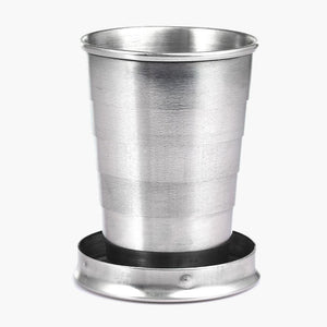 The Shot Flask--collapsible shot glass