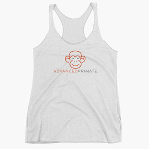Smiling Monkey Women's Racerback Tank
