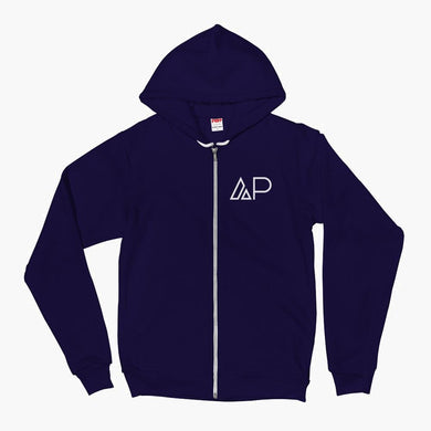 The AP Summit Zip Hoodie--Navy