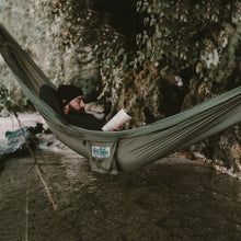 Load image into Gallery viewer, Trek Light Khaki & Green Double Hammock--camping