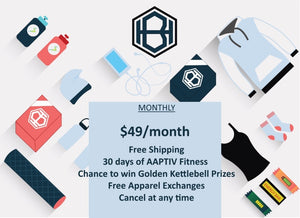 1 Month Subscription - HIIT Box
