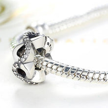 Load image into Gallery viewer, 925 Sterling Silver CZ Infinity Love Pandora Compatible Spacer
