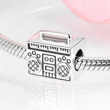 Load image into Gallery viewer, 925 Sterling Silver Radio Pandora Compatible Bead Charm