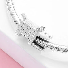Load image into Gallery viewer, 925 Sterling Silver Crocodile Pandora Compatible Bead Charm