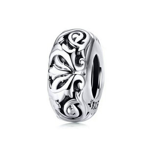 925 Sterling Silver Vintage Pandora Compatible Spacer
