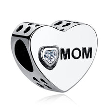 Load image into Gallery viewer, 925 STERLING SILVER Mom Love Charm