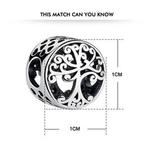 Load image into Gallery viewer, 925 Sterling Silver Openwork Tree of Life Pandora Compatible Bead Charm