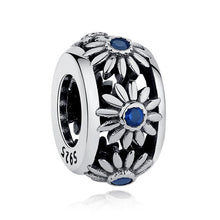 Load image into Gallery viewer, 925 Sterling Silver daisy Pandora Compatible spacer