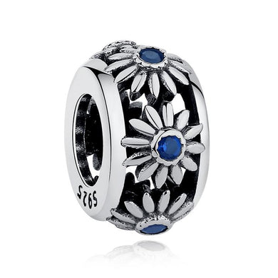 925 Sterling Silver daisy Pandora Compatible spacer