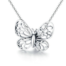 Load image into Gallery viewer, 925 Sterling Silver Openwork Butterfly Pandora Compatible Bead Charm