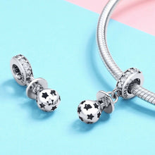 Load image into Gallery viewer, 925 Sterling Silver Baby Pacifier Pandora Compatible Dangle Charm