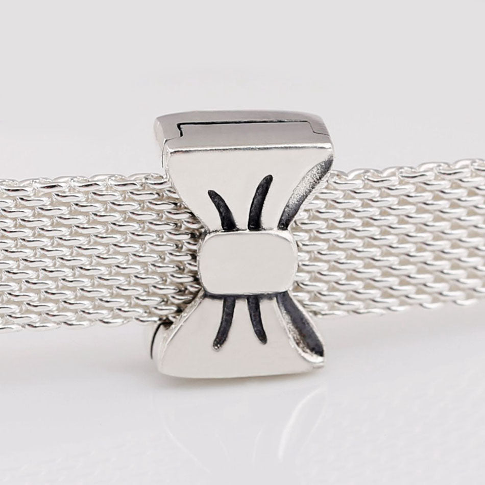 925 Sterling Silver Bow Reflexion Pandora Compatible Charm