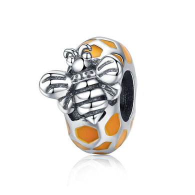 925 Sterling Silver Honey Bee Pandora Compatible Charm