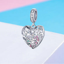 Load image into Gallery viewer, 925 STERLING SILVER PLATED SHINING ZIRCON PENDANTS