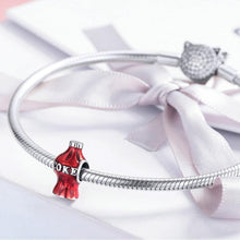 Load image into Gallery viewer, .925 Sterling Silver share a coke pandora Compatible Charm