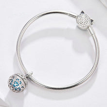 Load image into Gallery viewer, 925 Sterling Silver Perfume Ball Pandora Compatible Dangle Charm