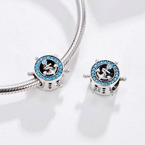 925 Sterling Silver Anchor Pandora Compatible Charm