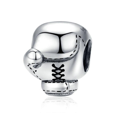 925 STERLING SILVER Boxing Glove Pandora Compatible Charm
