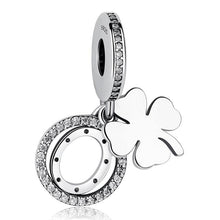 Load image into Gallery viewer, STERLING SILVER Clover Charm