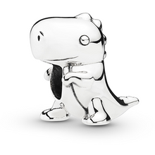 Load image into Gallery viewer, 925 Sterling Silver Dinosaur Pandora Compatible Bead Charm