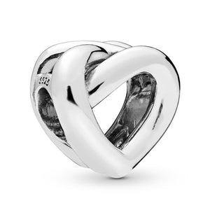 925 Sterling Knotted heart Pandora Compatible Charm