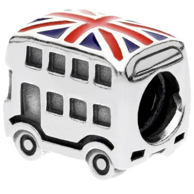 925 Sterling Silver London Bus Pandora Compatible Bead Charm