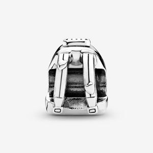 925 Sterling Silver Travel Backpack Pandora Compatible Charm