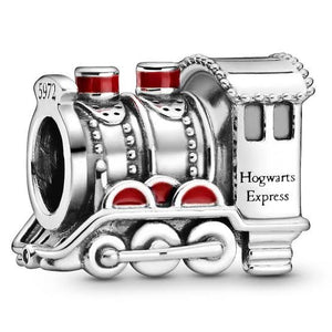 925 Sterling Silver Hogwards Express Pandora Compatible Charm