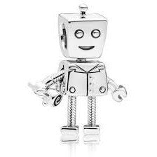 925 Sterling Silver Romantic Bot Pandora Compatible Dangle Charm