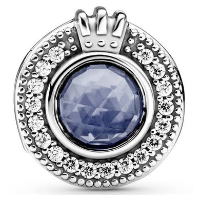 925 Sterling Silver Blue Pandora Compatible Charm