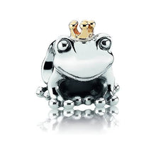 Load image into Gallery viewer, 925 Sterling Silver Frog Prince Pandora Compatible Bead Charm