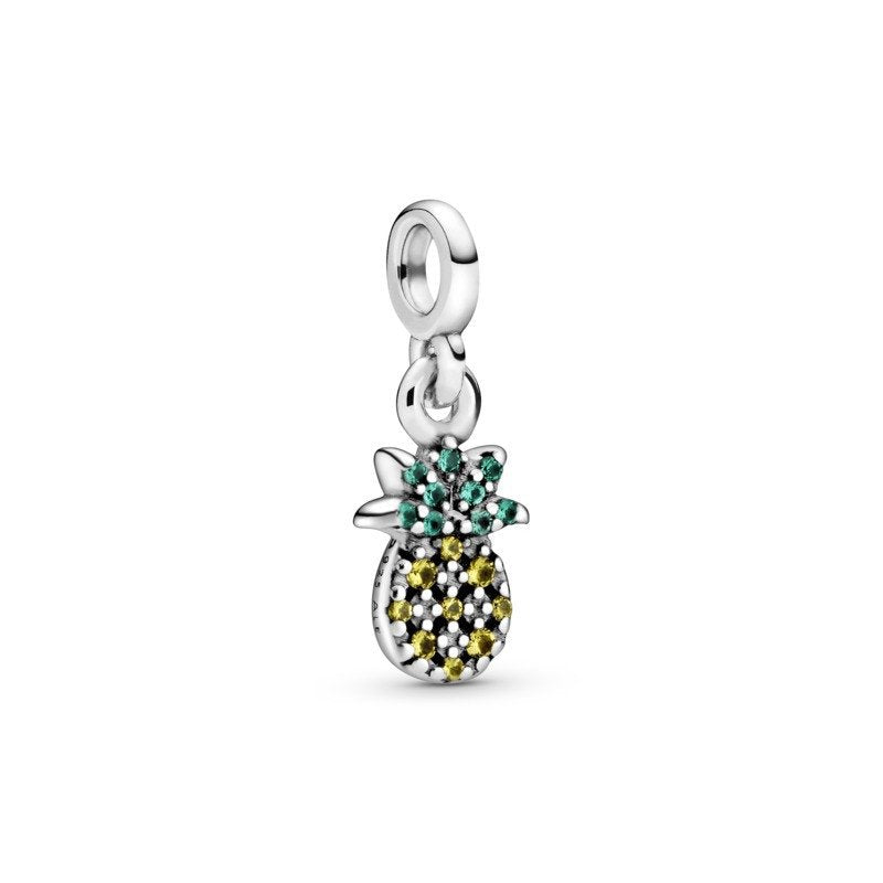 925 Sterling Silver Pineapple ME Charm