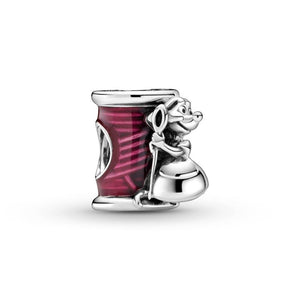925 Sterling Silver Cinderella Suzy Mouse Needle & Thread  Pandora Compatible Bead Charm