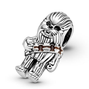 925 Sterling Silver Chewbacca Pandora Compatible Bead Charm