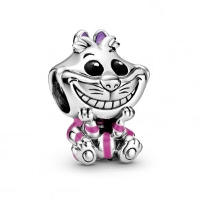 925 Sterling Silver Disney Babies Series ALICE IN WONDERLAND CAT Pandora Compatible Bead Charm
