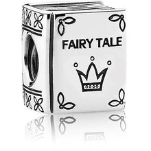 Load image into Gallery viewer, 925 Sterling Siver Fairy Tale Book Pandora Compatible Bead Charm
