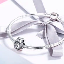 Load image into Gallery viewer, New Arrival 925 Sterling Silver Daisy Flower Bowknot Charm Beads fit Women Charm Bracelet & Bangles Jewelry Gift scc470