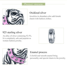 Load image into Gallery viewer, Authentic 925 Sterling Silver Cute English Bulldog Dog Charm Beads fit Original Charm Bracelet DIY Jewelry Making SCC552