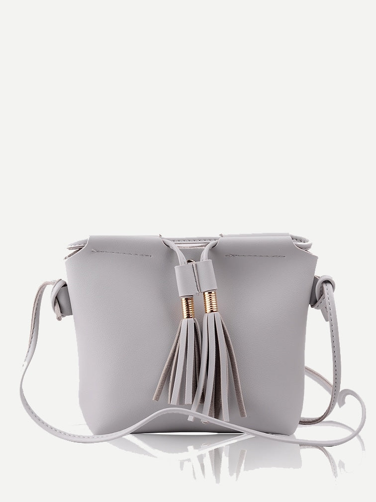 Lynette Cross Body Bag (Grey)