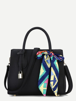 Hariette Shoulder Bag (Black)