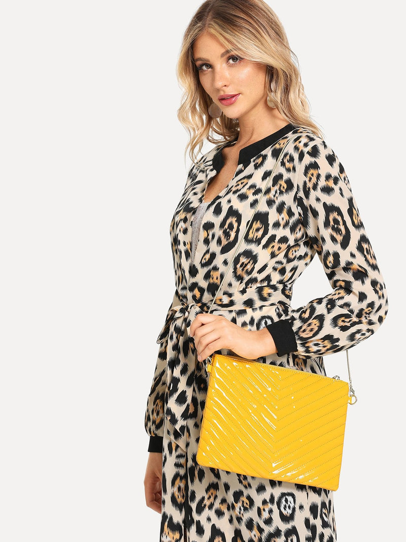 Anabelle Clutch Bag (Yellow)