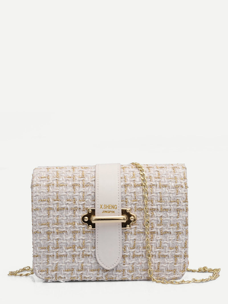 Tina Cross Body Bag (Blanc)